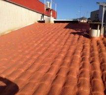 Aislante térmico e impermeabilización de cubierta de teja en Sant Feliu de Llobregat