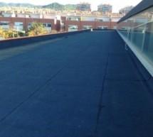 Impermeabilización de cubierta transitable de 600m2